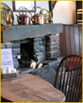 Dining at the Three Horseshoes Inn at Allensmore near Hereford